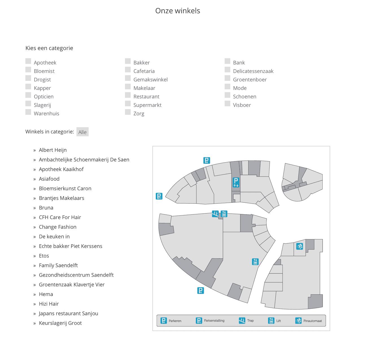 Interactieve map